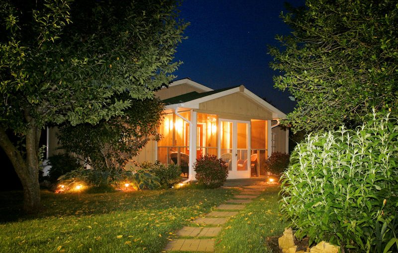 Rosebud Cottage is one of our romantic cottages in the Shenandoah Valley in Luray, VA at Piney Hill Bed & Breakfast & Cottages